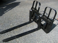 HD Horst pallet fork 4200 IBS ALO quick attach