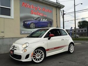 2013 FIAT 500 ABARTH EDN, TURBOCHARGED, RARE FIND, ONLY 44KM!