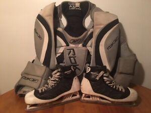 Patins de gardien hockey BAUER SUPREME 7000, taille US 10