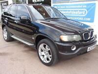 BMW X5 3.0d auto 2003 Sport 4x4 Tracker Fitted S/H Full Mot p/x swap