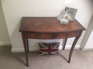 English Mahogany - Hall Console Table Woollahra Eastern Suburbs Preview