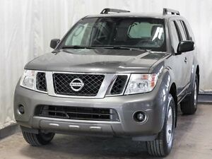 2008 Nissan Pathfinder S 4WD 7-Passenger w/ Low KMs, CD Player,