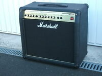 50 WATT MARSHALL VALVESTATE 2000 COMBINATION AMPLIFIER & SPEAKER WITH FOOTSWITCH £80.00