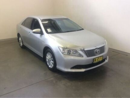 2013 Toyota Aurion GSV50R AT-X Silver Pearl 6 Speed Automatic Sedan Westdale Tamworth City Preview