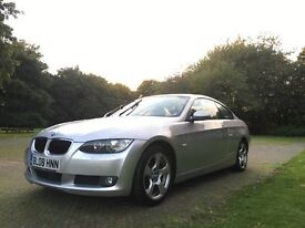 BMW E92 320d SE Coupe 2008, Immaculate Condition, FSH, High spec, Diesel