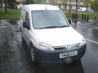 2008 Vauxhall/Opel Combo 1.3CDTi 16v 1700 Manual Diesel Van in White