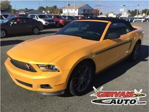 Ford Mustang Convertible Premium Club of America Cuir MAGS 2012