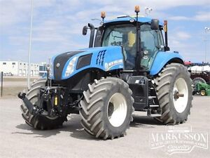 2014 New Holland T8.300 - 298HP, Front & Rear 3pt. Hitch & PTO