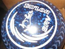 TAYLOR SRV SIZE 4 GRIPPED LAWN BOWLS Burrum Heads Fraser Coast Preview