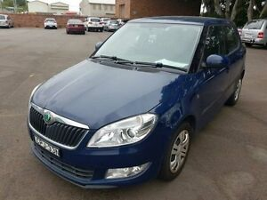 2011 Skoda Fabia 5JF 77 TSI Blue 5 Speed Manual Hatchback Georgetown Newcastle Area Preview