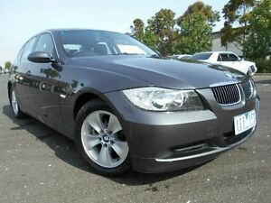 2006 BMW 323I E90 Grey 6 Speed Steptronic Sedan Maidstone Maribyrnong Area Preview