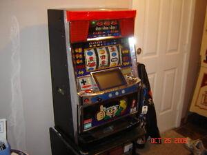 Coke Fridge and Counter Slot Machine