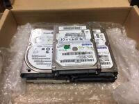 5x 160GB - 2x 320GB HDD Lot Of Various Models SATA 2.5 Laptop Internal Hard Drive HDD