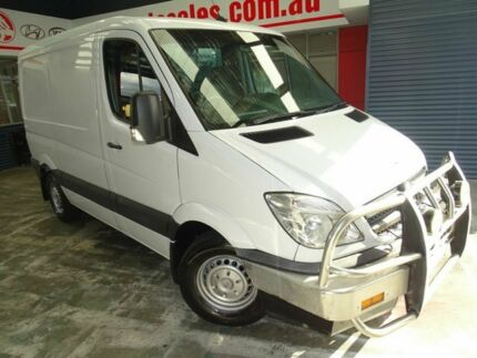2010 Mercedes-Benz Sprinter NCV3 MY10 313CDI Low Roof SWB White 5 Speed Automatic Van