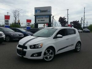 2012 Chevrolet Sonic LTZ ONLY $19 DOWN $56/WKLY!!