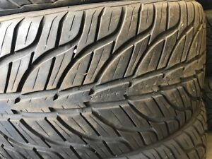 275/40R20, 106w Summer tires, USED General G-MAX A5-03