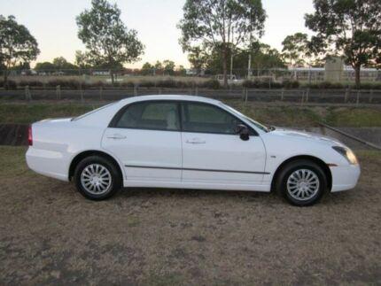 2003 Mitsubishi Magna TL ES White 4 Speed Auto Sports Mode Sedan