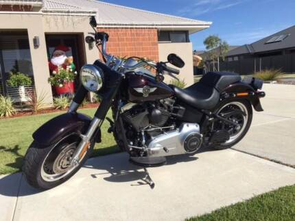 2014 Harley Davidson Fat Boy Lo Immaculate Condition