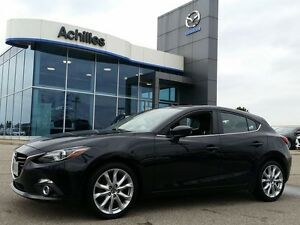 2014 Mazda Mazda3 Sport GT-SKY, Leather, Tech Pkg, LOADED