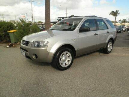 2006 Ford Territory SY TX Silver & Grey 4 Speed Sports Automatic Wagon