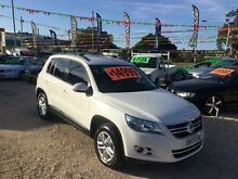 2009 Volkswagen Tiguan 5N MY09 TSI White Automatic SPORTS WAGON Islington Newcastle Area Preview