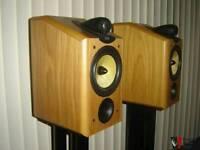B&W Bowers & Wilkins CDM1 NT Audiophile Speakers HIFI boxed with paperwork