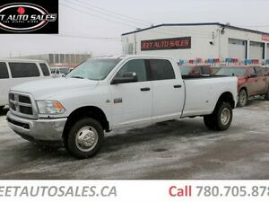 2012 Ram 3500 SLT 4x4 Crew Cab Long Box 6.7L Cummins Turbo Diese