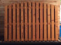 Arched Picket Fencing Panels