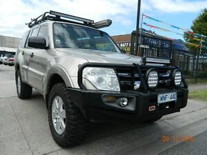 2007 Mitsubishi Pajero NS GLX Gold 5 Speed Automatic Wagon Williamstown North Hobsons Bay Area Preview