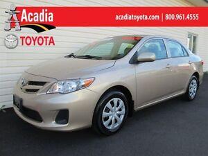 2012 Toyota Corolla CE Enchanced Conv Pkg!