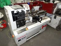 HARRISON M300 GAP BED CENTRE LATHE 25 INCH YEAR 1995