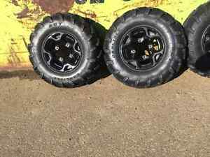 Can Am 1000 Outlander Rims and Tires