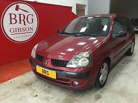 Renault Clio Manual Dynamique (red) 2001