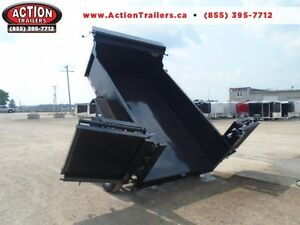2016 Action 6 x 10 Hydraulic dump trailer w/combo gate upgrade