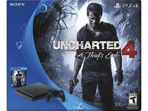 Almost new PS4