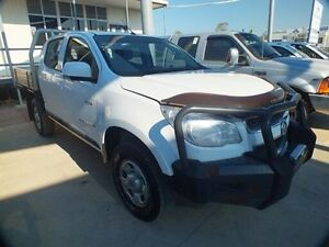 2013 Holden Colorado RG LX (4x4) White 6 Speed Automatic Crewcab Bohle Townsville City Preview