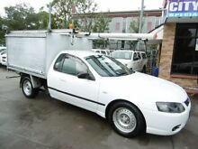 2007 Ford Falcon BF MkII XL White 4 Speed Auto Seq Sportshift Cab Chassis Yagoona Bankstown Area Preview