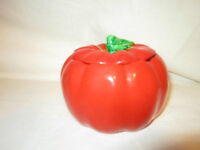 Made in Occupied Japan - Tomato Condiment Jar