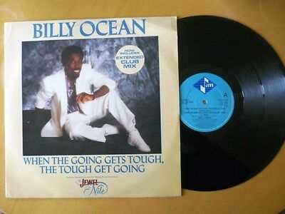 "BILLY OCEAN = WHEN THE GOING GETS TOUGH,THE TOUGH GET GOING - EXCELLENT12"" VINYL"