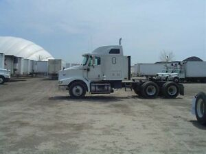 2002 International 9200 6x4, Used Sleeper Tractor