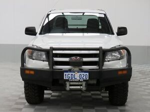 2011 Ford Ranger PK XL (4x4) White 5 Speed Automatic Dual Cab Chassis East Rockingham Rockingham Area Preview