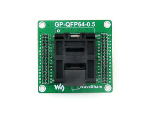 GP-QFP64-0-5-IC-Test-Socket-Programming-Adapter-for-QFP64-TQFP64-LQFP64-0-5Pitch