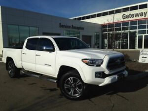 2016 Toyota Tacoma Limited Dbl Cab, Leather, Nav, Backup Cam