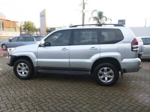2003 Toyota Landcruiser Prado GRJ120R Grande (4x4) Silver 4 Speed Automatic Wagon Gepps Cross Port Adelaide Area Preview