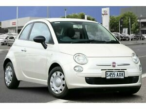 2013 Fiat 500 Series 1 POP White 5 Speed Manual Hatchback Adelaide CBD Adelaide City Preview