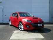 2009 Mazda 3 BL1031 MPS Red 6 Speed Manual Hatchback Edwardstown Marion Area Preview