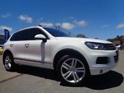 2013 Volkswagen Touareg 7P MY13 V6 TDI White 8 Speed Automatic Wagon Pooraka Salisbury Area Preview