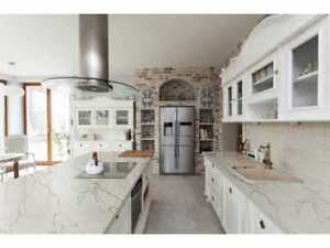 Granite, Quartz, Kitchen Countertop, Free Estimate, Free Sink