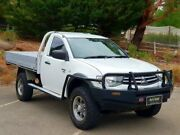 2009 Mitsubishi Triton MN MY10 GLX White 4 Speed Automatic Cab Chassis Littlehampton Mount Barker Area Preview