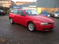 ALFA ROMEO 156 TURISMO ESTATE JTD DIESEL - ONLY 68K MILES AND NEW M.O.T